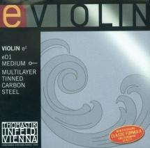 Thomastik Cordes Violon Programme Special Violons Souple E01w
