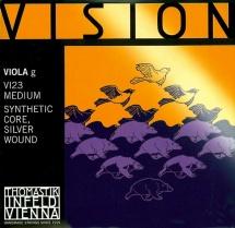 Thomastik Cordes Alto Vision Noyau Synthetique Moyen Vi21
