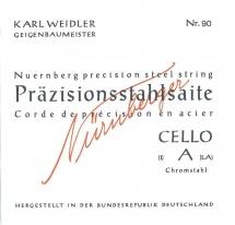Nurnberger Cordes Violoncelle Precision 1/8 94