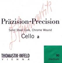 Thomastik Cordes Violoncelle Präzision Acier Noyau Plein La 1/4 770