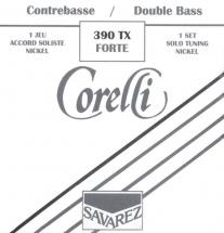 Corelli Cordes Contrebasse Accord Solo Extra Fort 390tx