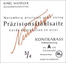 Nurnberger Cordes Contrebasse Precision Accord D\'orchestre 3/4 200