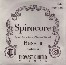 Thomastik Cordes Contrebasse Spirocore Noyau Spirale Souple