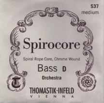 Thomastik Cordes Contrebasse Spirocore Noyau Spirale Jeu 3887,0