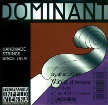 Thomastik Cordes Viole D\'amour Dominant Jeu 4311,0