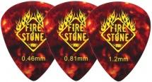 Fireandstone Mediators Mix Celluloid 1,20 Mm, Tortue