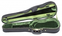 Jaeger Etuis De Forme Violon Prestige 4/4 Exterieur Noir Effet Carbone