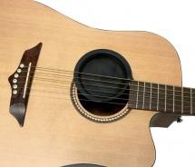 Fireandstone Feedback Stop Guitare Acoustique Guitare Acoustique 102 Mm