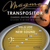 Magma Cordes Guitare Classique Magma Transpositor Jeu