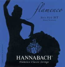 Hannabach Cordes De Guitare Classique Serie 827 Tension Forte Flamenco Classic Jeu High