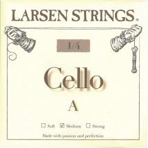 Larsen Strings Cordes Pour Violoncelle Petites Tailles Do 3/4