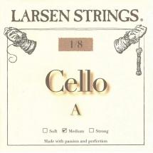 Larsen Strings Cordes Pour Violoncelle Petites Tailles La 1/8