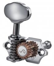 Schaller Sc502.120 Mecaniques Grandtune 3 Gauches/ 3 Droites - Nickel