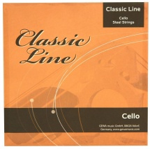 Gewa Corde Violoncelle Classic Line Jeu 3/4
