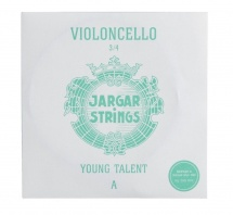 Jargar Cordes Violoncelle Young Talent - Petits Diapasons La 3/4 Medium 0,76mm