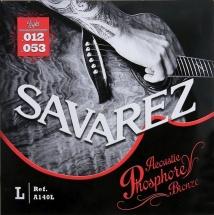 Savarez Cordes Pour Guitares Acoustiques Acoustic Medium .013-.056