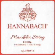 Hannabach Cordes Mandoline E .009 2821009