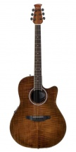 Ovation Ab24iip Mid Cutaway Vintage On Flamed