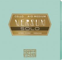 Thomastik Cordes Violoncelle Versum Solo Jeu Solo A+d
