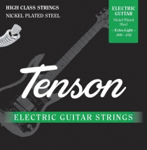 Gewa Corde Guitare Electrique Tenson Nickel .010-.046, Regular Light
