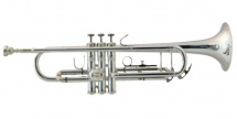 Bach Trompette Sib Student Serie Tr-305s, Argentee