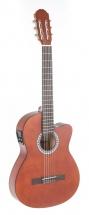 Gewa Guitare électroacoustique Classique Basic Electro-acoustique, Noyer, Slim Body