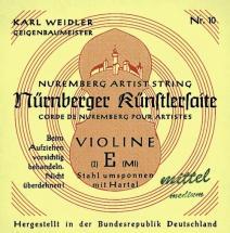 Gewa Nurnberger Kunstler Violon 4/4 Jeu De Cordes 16