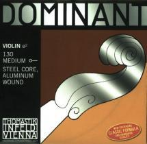 Thomastik Dominant Violon 3/4 Corde De Mi 130 Tirant Moyen