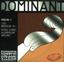 Thomastik Dominant Violon 4/4 Jeu De Cordes 135b Tirant Faible