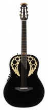 Ovation 50th Anniversary Custom Elite Mid Non-cutaway Black