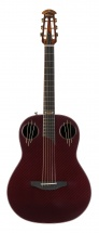 Adamas 40th Anniversary Mid Non-cutaway Ruby Red