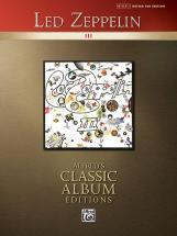 Led Zeppelin - Classic Led Zeppelin Iii - Guitar Tab