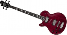 Hagstrom Gaucher Swede Bass Cherry Red