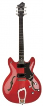 Hagstrom Viking Vik-wct Rouge Cerise Transparent
