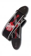 Gibson 2woven Strap W/ Gibson Logo-red