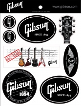 Gibson 12 Auto-collants