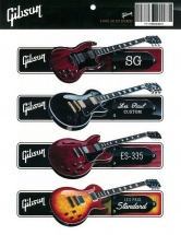 Gibson Gibson Sticker Pack