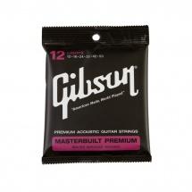 Gibson Masterbuilt Premium 8020 Brass  .012-.053 Acou