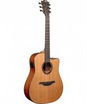 Guitare Electro Acoustique Lag T200dce - Tramontane Dreadnought Cutaway