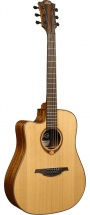 Lag Tl118dce Tramontane 118 Lefty Dreadnought Cutaway Electro