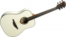 Lag Tramontane Special Edition Dreadnought Ivory + Etui
