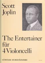 Joplin Scott - The Entertainer - 4 Cellos