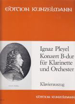 Pleyel - Concerto Pour Clarinette Et Orchestre Sib Majeur
