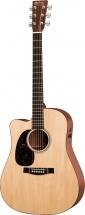 Martin Guitars Dcpa4-l Gaucher Dread Cut Epicéa Sitka/sapele