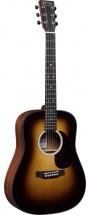 Martin Guitars Dreadnough Junior Sunburst Electro-acoustique