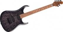 Music Man John Petrucci Jp15 Trans Black Quilt