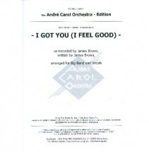 Brown James - I Got You (i Feel Good) - Score And Parts