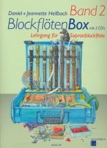 Hellbach D. - Blockflotenbox Band 2 + 2 Cd