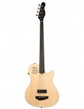 Godin A4 Basse 4c Ultra Fretless Sa Naturel + Housse