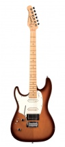 Godin Serie Performance Session Gaucher Light Burst Lustre Touche Erable